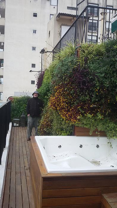 Eduardo barak jardines verticales en argentina buenos aires for Jardines verticales construccion