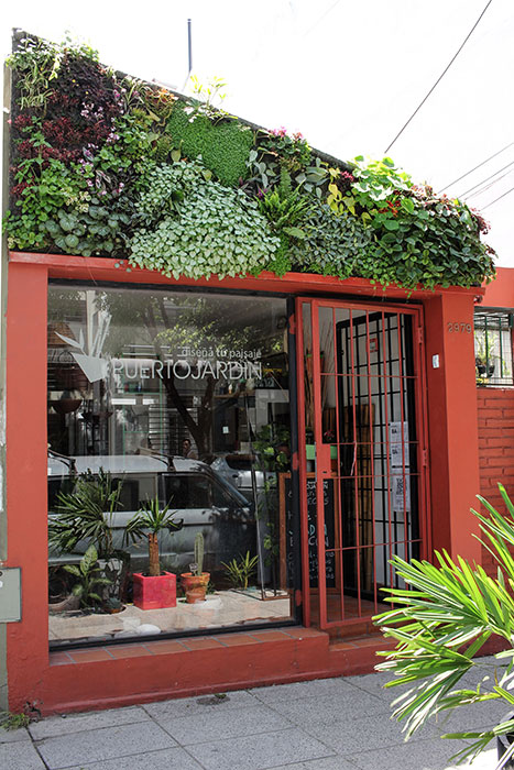 Ivo luci n oxagaray jardin vertical en argentina buenos for Jardines verticales buenos aires