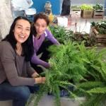 Selva Neves y Veronica Engelberg, jardines verticales en argentina, buenos aires