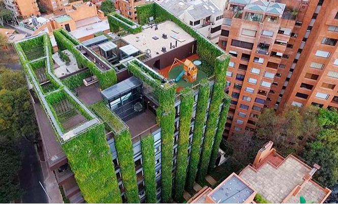 Jardinería vertical en América Latina