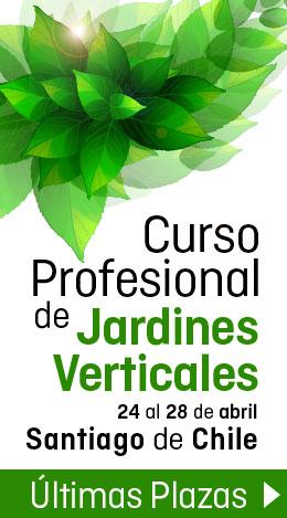 Curso Profesional de Jardines Verticales en Santiago de Chile