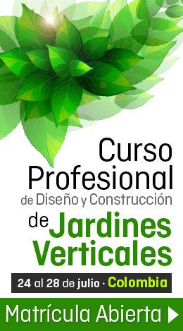 Curso Profesional de Jardines Verticales en México