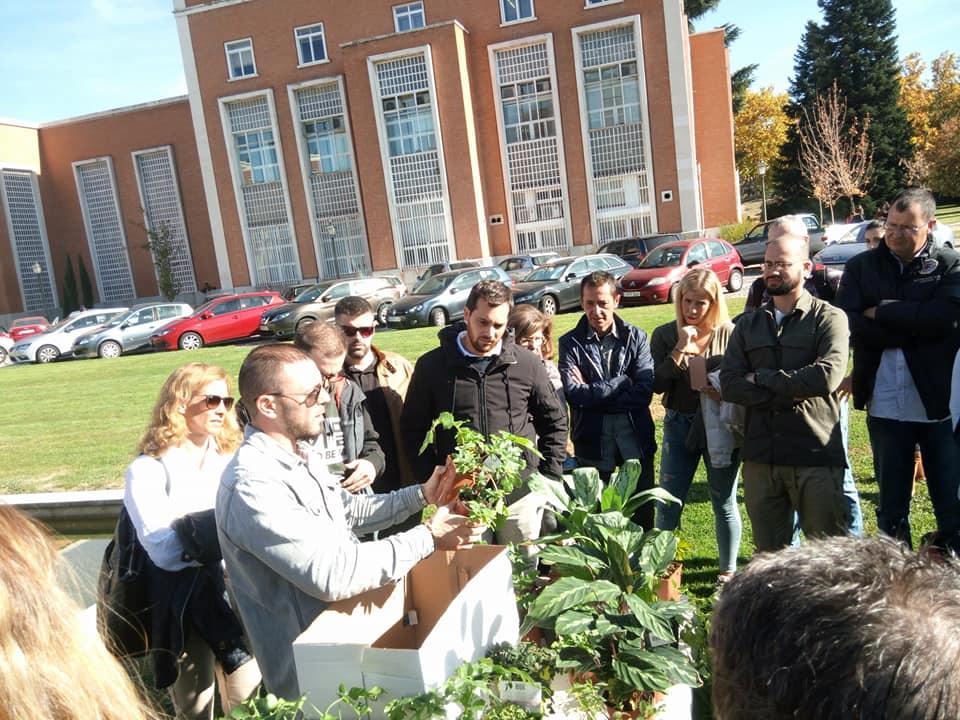 curso profesional jardines verticales Madrid