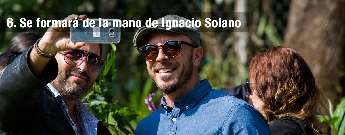 Se formará de la mano de Ignacio Solano