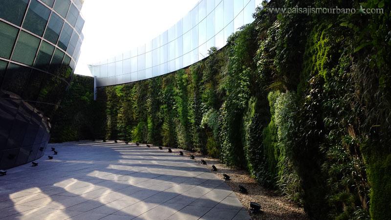 Jardín vertical más grande de Uruguay