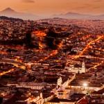 Panorámica de la ciudad de Quito