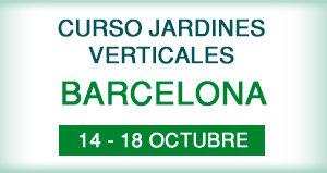 Curso Jardines Verticales en Barcelona