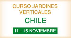 Curso de Jardines Verticales en Chile