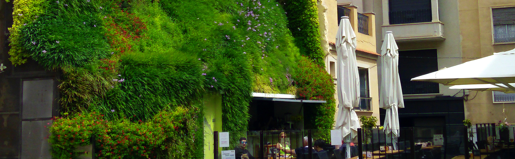 Proyecto de jardin vertical Paisajismo Urbano