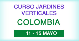 Curso jardines Verticales en Colombia