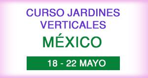 Curso Jardines Verticales en México