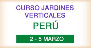 Curso jardines Verticales en Perú