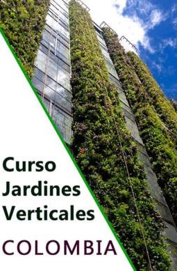 Curso profesional de jardinería vertical en Colombia. Formación con el mejor sistema constructivo del mercado.