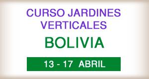 curso profesioanl de jardines verticales en bolivia