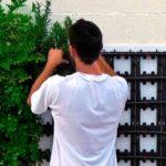 como instalar huerto vertical modularl